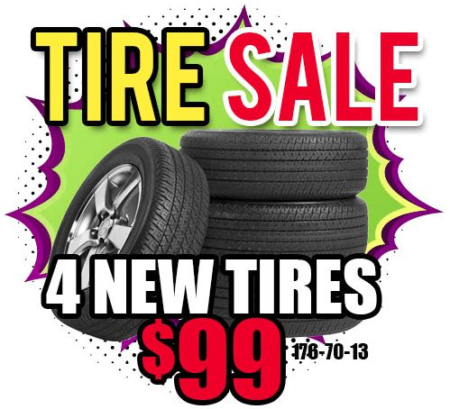 cheap tires for sale in Escondido.