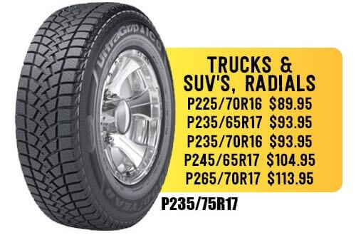 cheap truck tires, SUVs and Radials in Escondido.