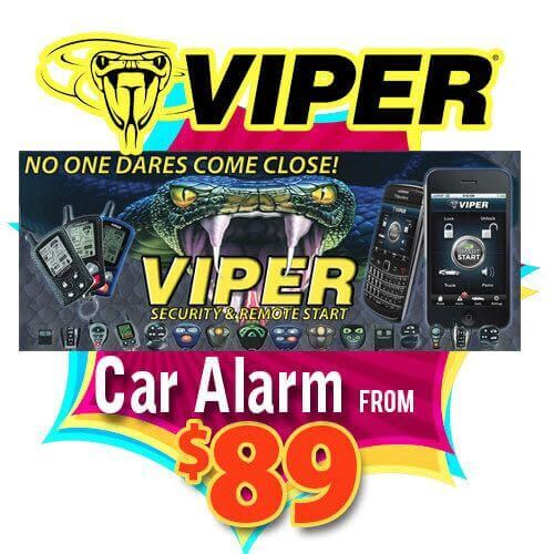 Viper car alarm and security system