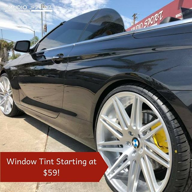 Don't wait on car window tinting! It makes a major difference, especially during these warmer months.  Discover our affordable prices today!