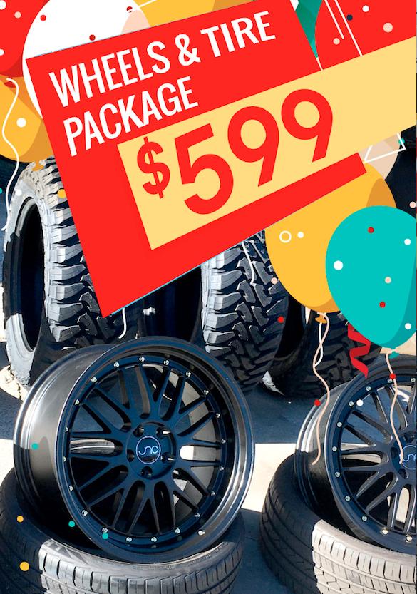 Cheap Wheel and Tires in Escondido