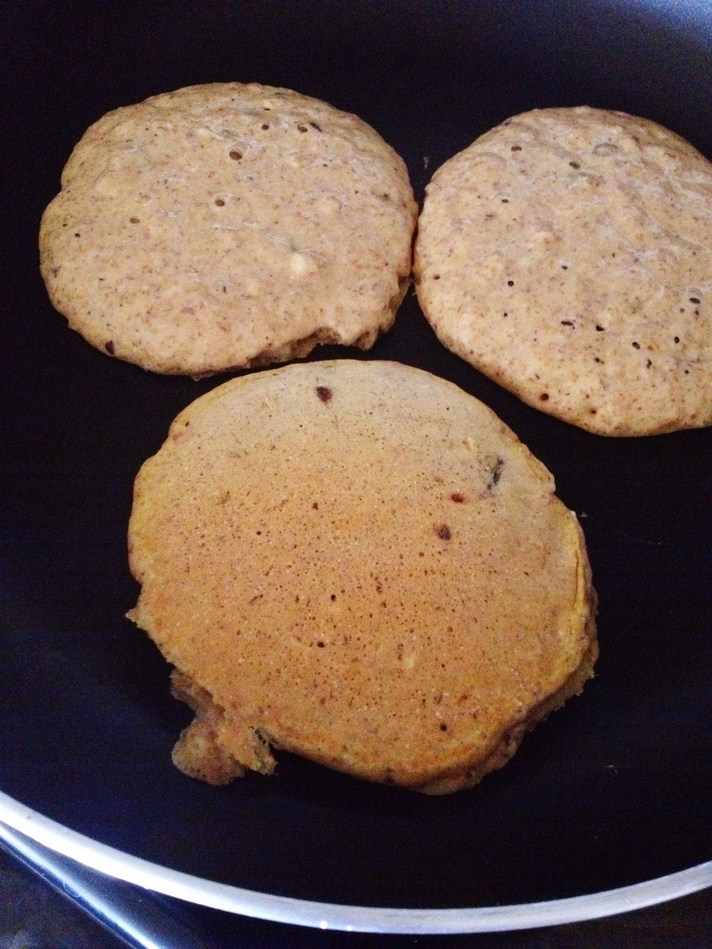 Whole wheat pancakes you can feel good about