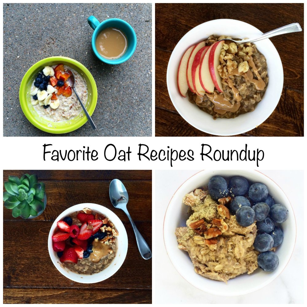 Favorite Oatmeal recipes roundup