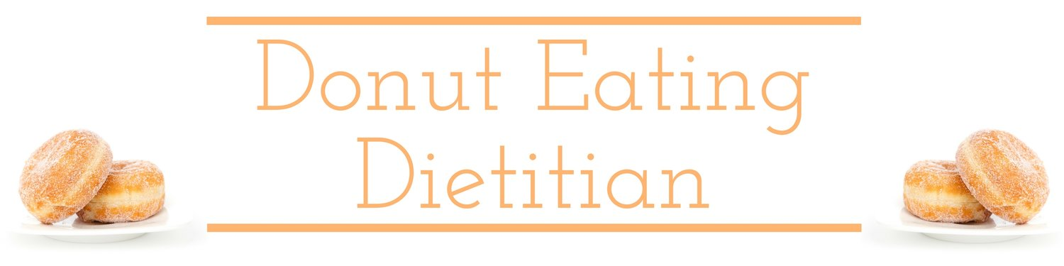 The donut eating dietitian