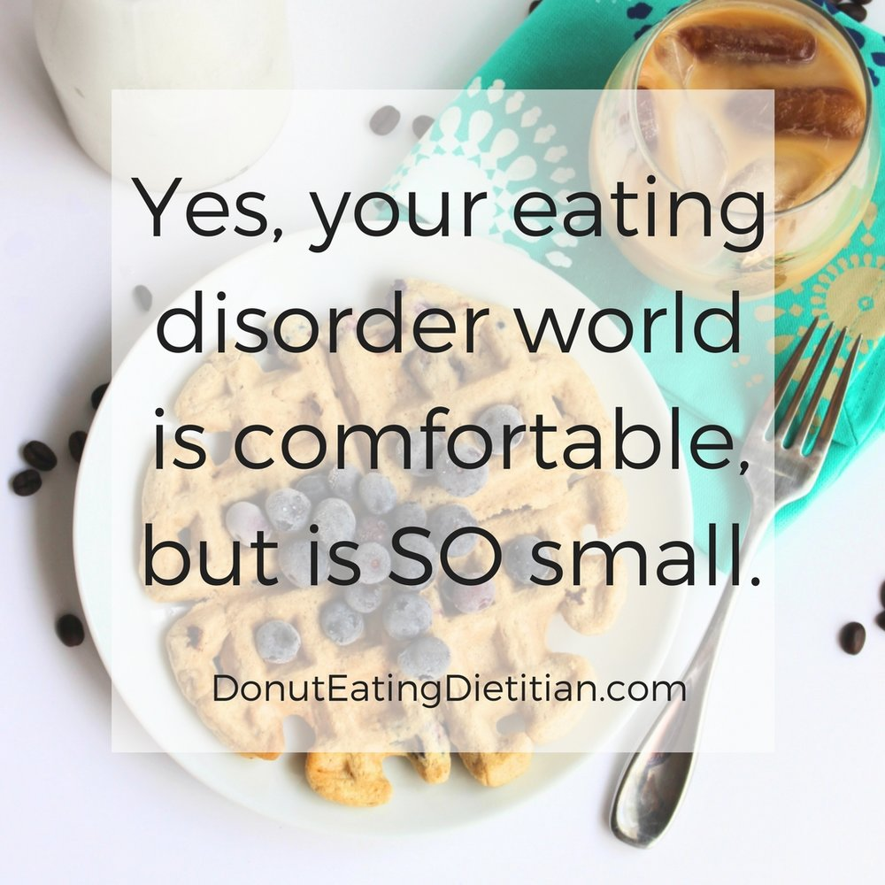 why we need a point of reference in eating disorder recovery