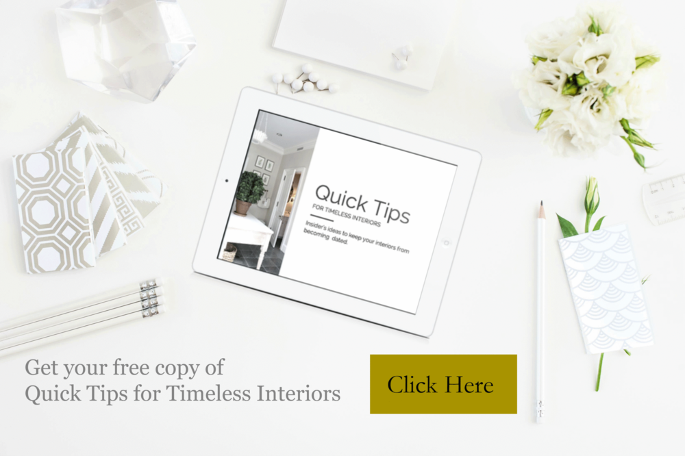 Get your Tips For Timeless Interiors here... s