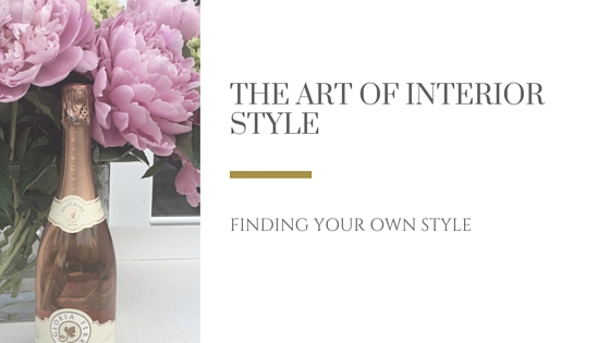 The Art of Interior Design Style...Find Yours title image