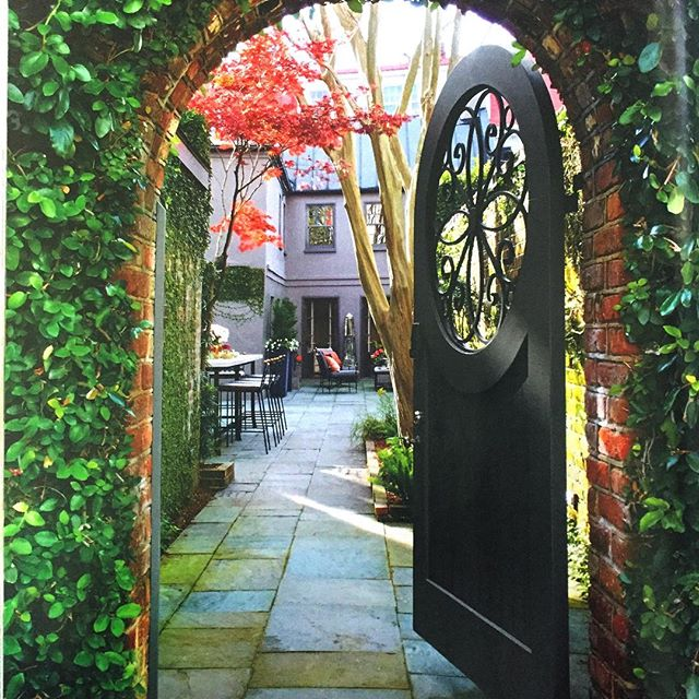 Nothing as inviting to the possibilities as a garden gate to a secret spot... . . . . .  #interiordecor #interiordecoration #interiordesignideas #interiorarchitecture #elledecor #homes #dreamhome #exteriordesign #residentialdesign #beautifulhomes #renovations #remodeling #kitchendesign #homeideas #nycinteriordesign #homeowners #homeownership #fairfieldcountyct #westchestercountyrealestate #nycliving #interiordesignlovers #homelovers #womeninfinance #womeninbusiness #womenintech #realtors #realtorslife #gardenlovers #designlovers #homeandgarden