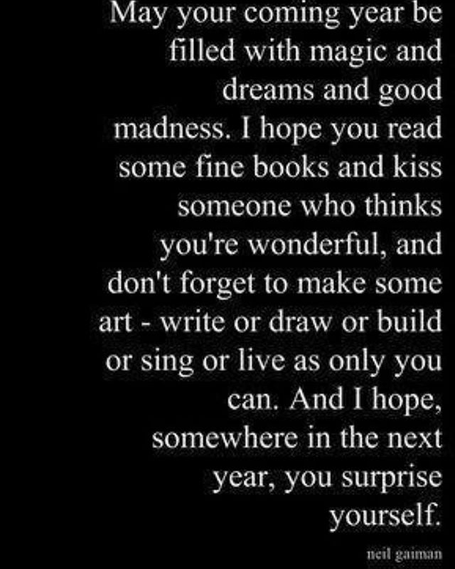 My New Years wish for all...