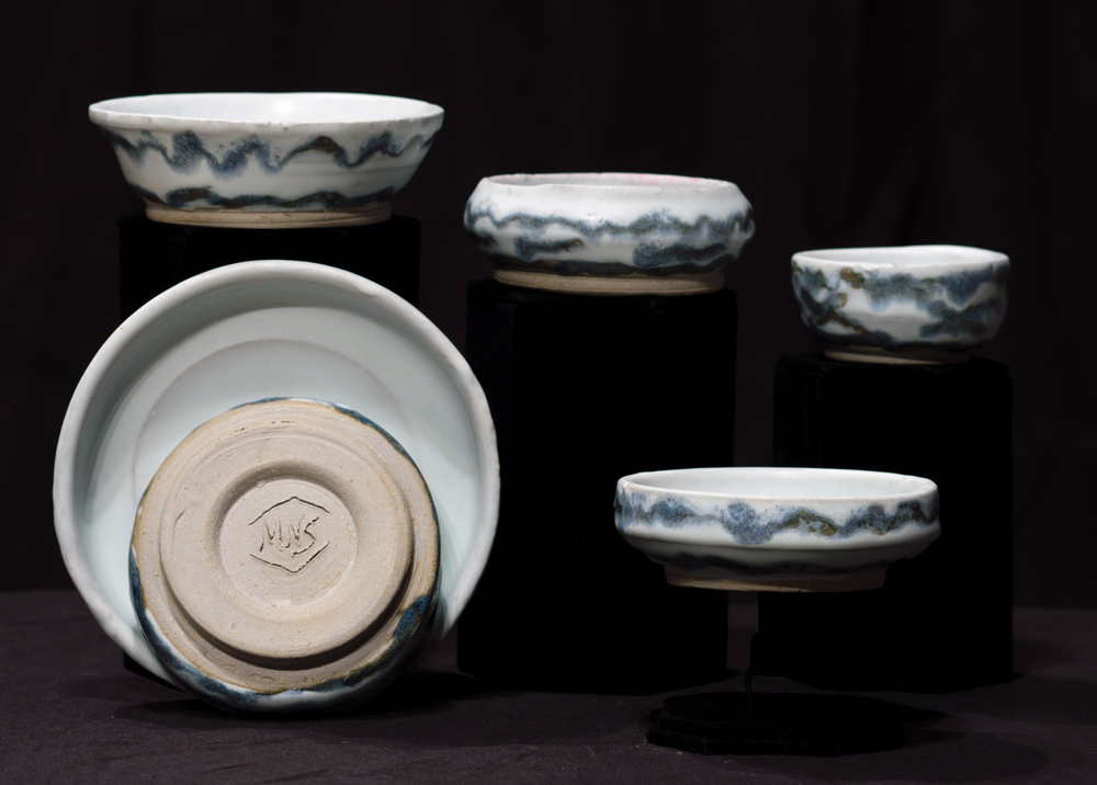 Alternating Motif Bowl Set, 2012