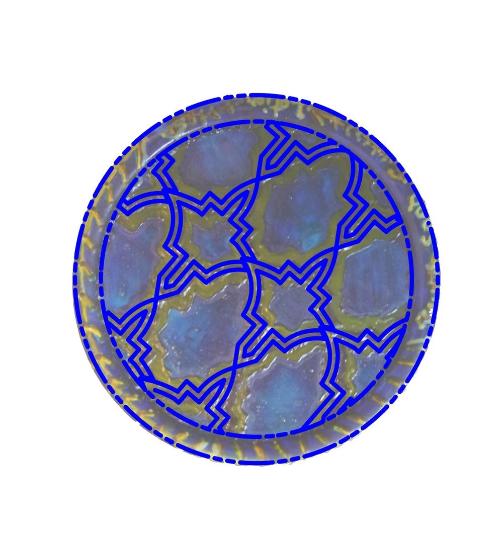 Moroccan Plate Design, 2012