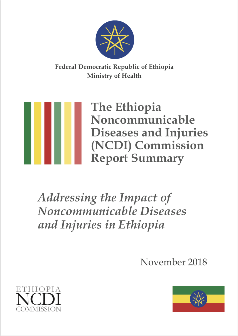 Ethiopia NCDI Commission Report Summary