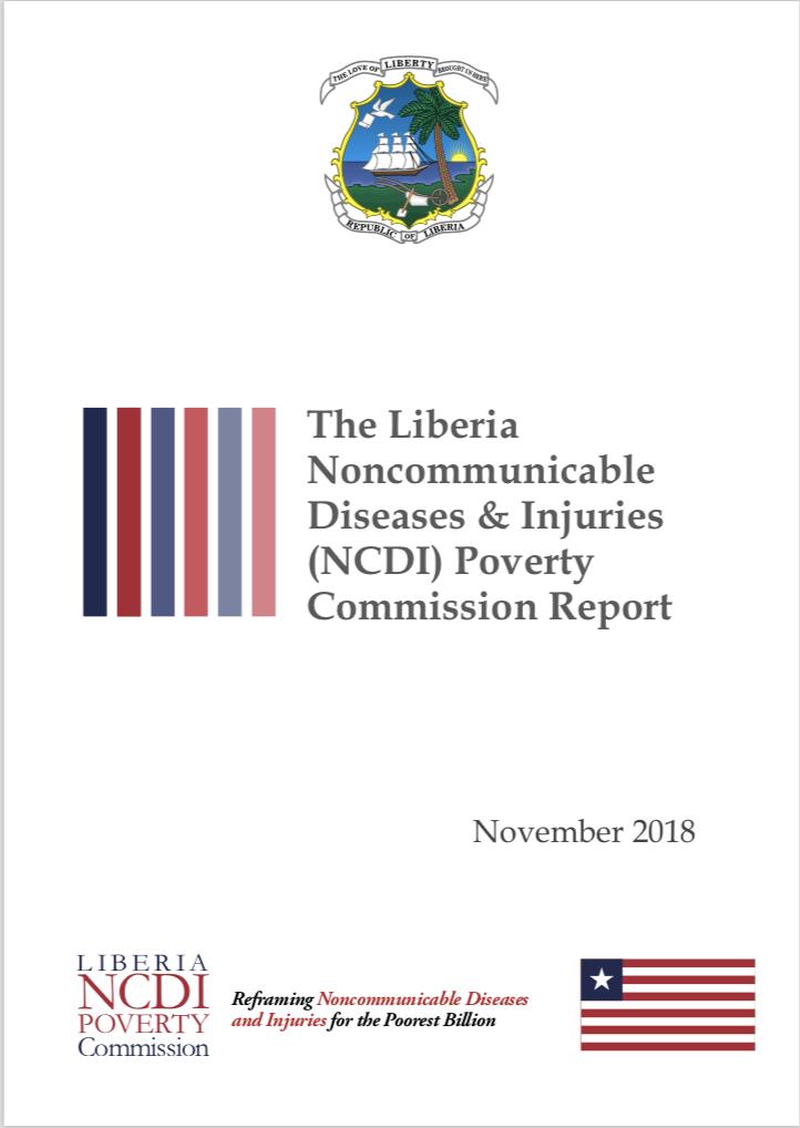 Liberia NCDI Poverty Commission Report