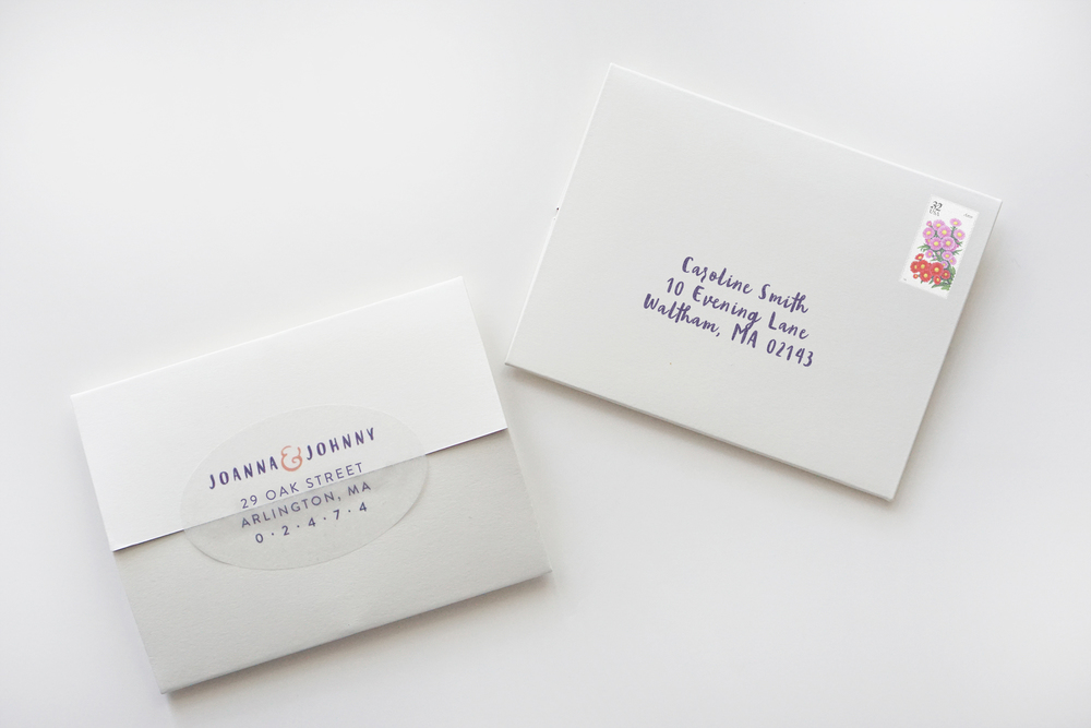 A fun and intimate wedding invitation — Bears Eat Berries