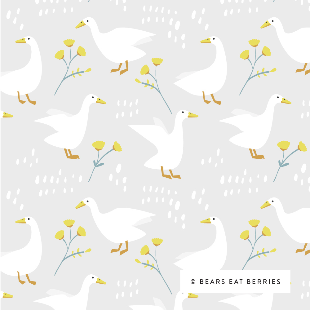 farm ducks pattern