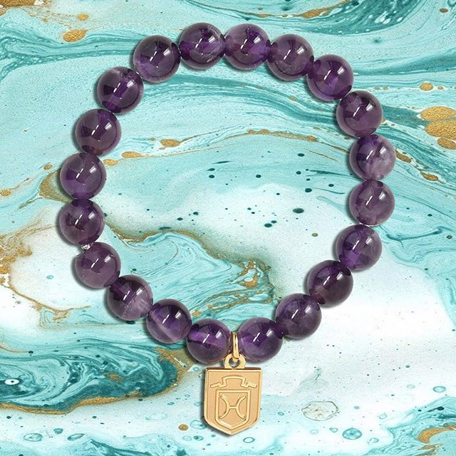 Purple amethyst has always been one of our best sellers. Which breed charm would you put on yours!?
