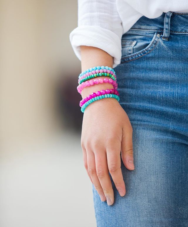 These stackers are how QUINNS got started and are the perfect simple addition to your #armparty