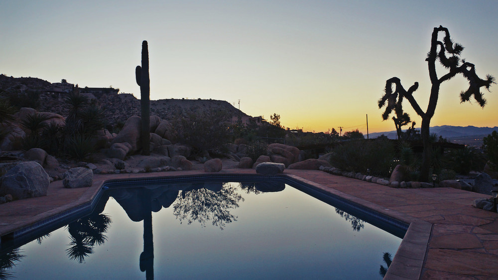 Click here  to book our Airbnb place. We sent our friends and they loved it! An incredibly inspiring pool house in Yucca Valley, about 15 minutes from Joshua Tree National Park and its rad little town.