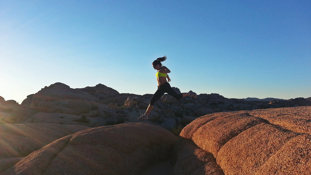 The rocks were  massive, high and shaped like marshmallows, but so easy to climb. Joshua Tree National Park is known for its rock climbing and there are much higher and more difficult peaks.