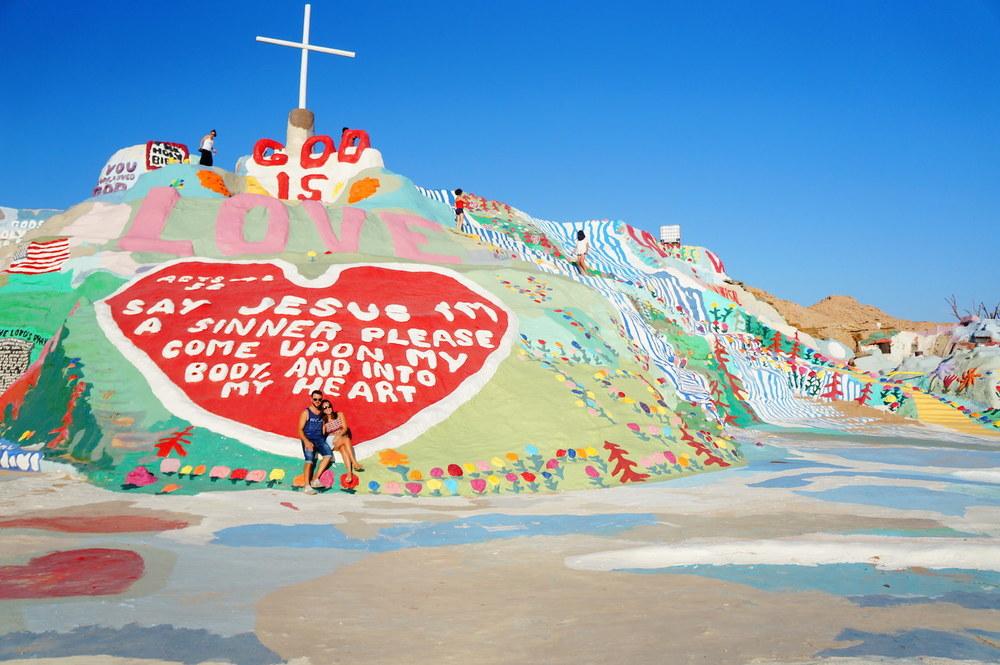 Leonard Knight's message was clear : God is Love.