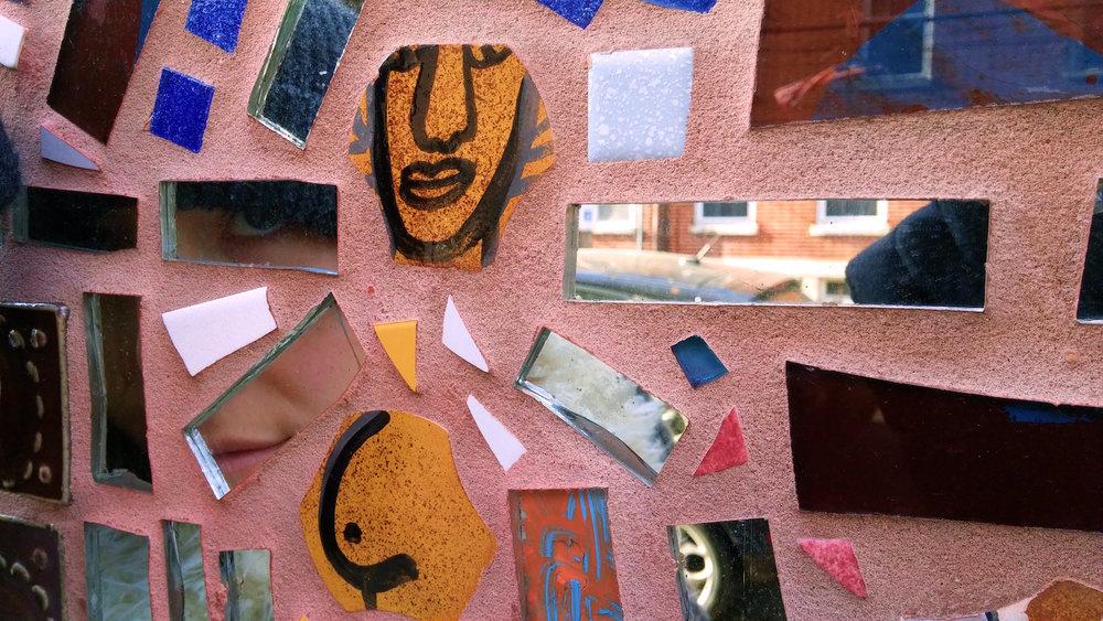 Philadelphia's Magic Gardens on South Street. A nonprofit community art project.