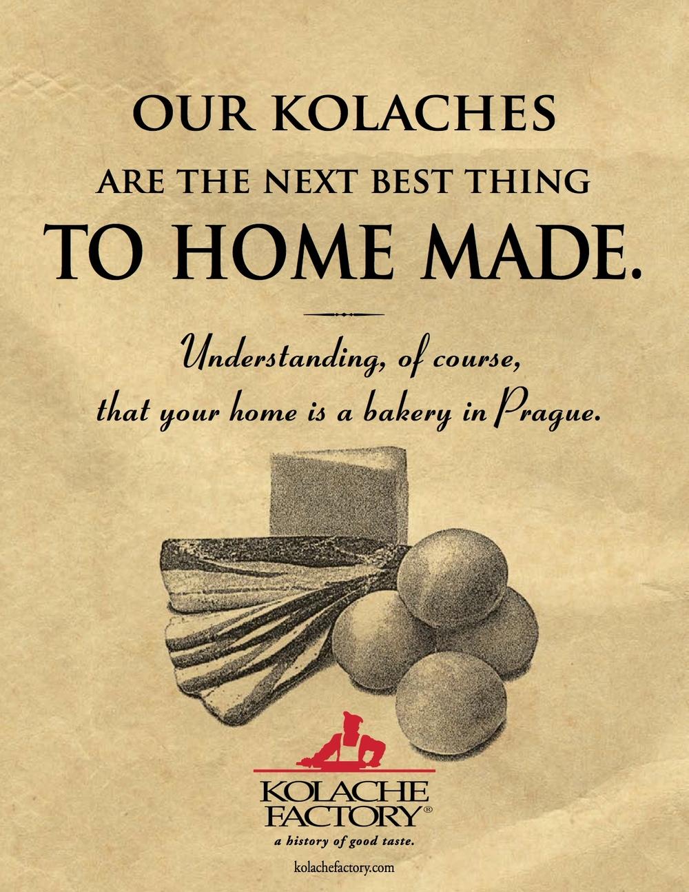 Kolache Factory / Poster