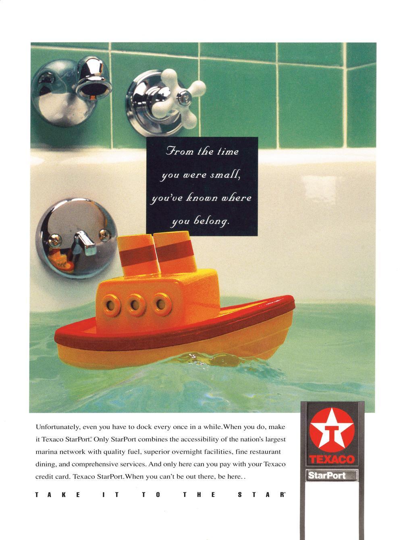 Texaco StarPort / Ad