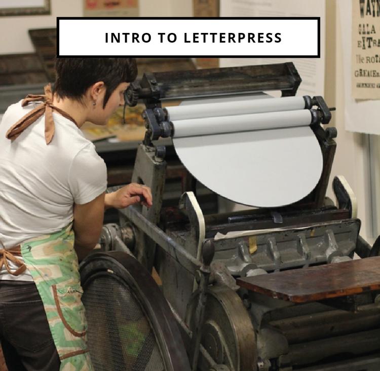 Intro to Letterpress @ Green Pea Press Studio 122 | Huntsville | Alabama | United States