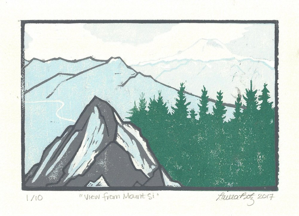 """""""View from Mount Si"""""""