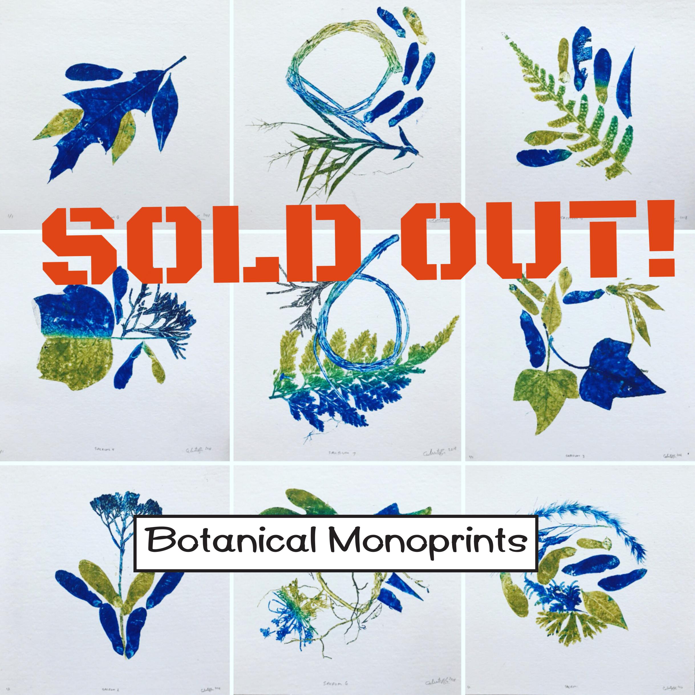 Botanical Monoprints with Celeste Pfau @ Green Pea Press Studio 122 | Huntsville | Alabama | United States