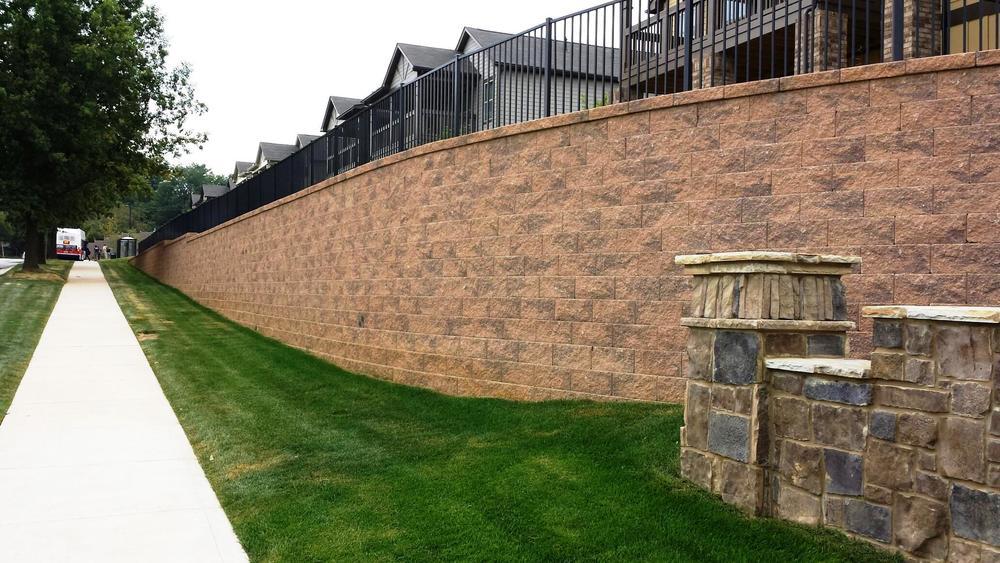 MSE Segmental Retaining Walls