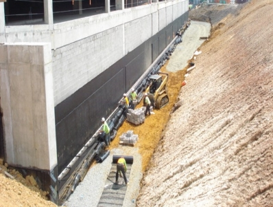 MSE Pressure Relief Retaining Walls