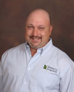 Joseph Imbach serves as a Project Superintendent for Pinnacle Design/Build Group, Inc. Mr. Imbach has a background in Residential Construction. Mr. Imbach obtained a Bachelor of Science in Physics from the Georgia Institute of Technology in 1991. Mr. Imbach brings knowledge of several different fields to Pinnacle Design/Build Group, Inc. and is a key component in the continued success of the company.  jimbach@pdbgi.com