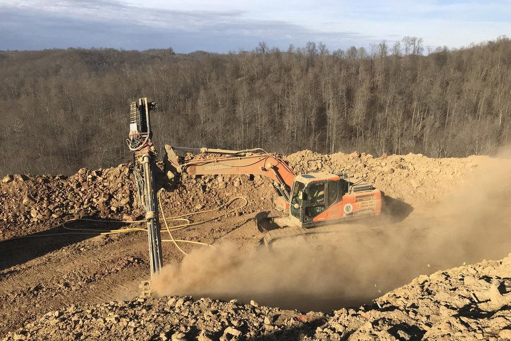 Soil Nail Slope Stabilization