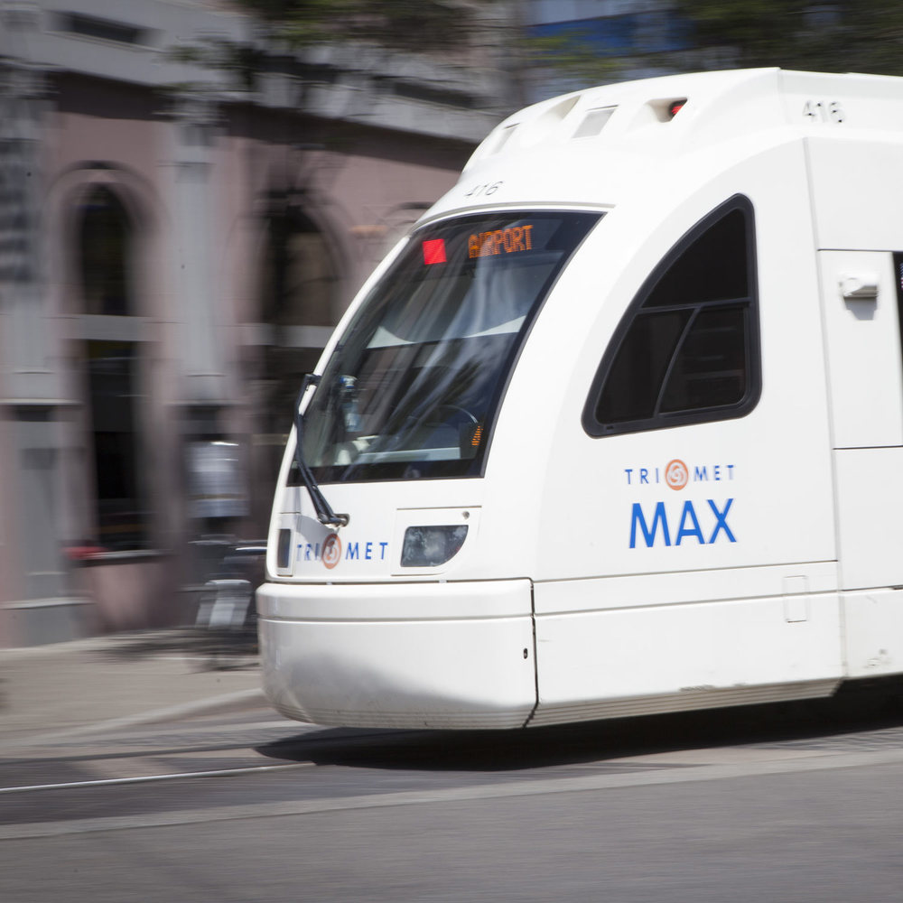 Close to public transit routes, including MAX Light rail