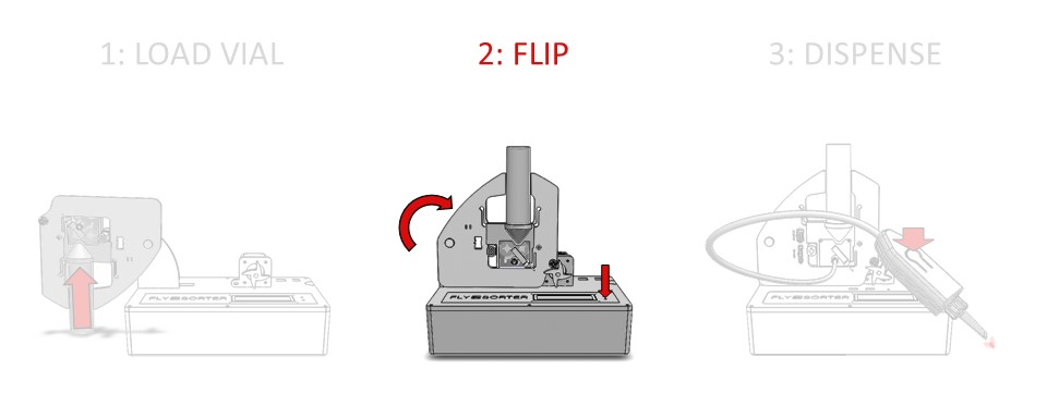 Step 2: Return the tapper arm to the normal position, and connect the spring