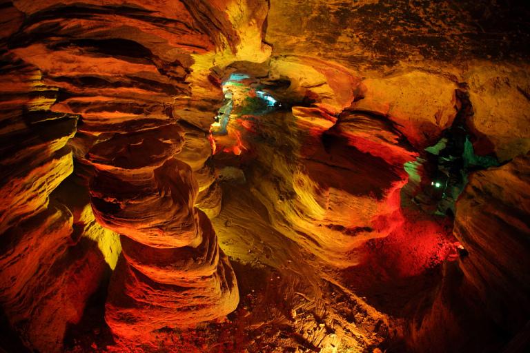 Laurel Caverns by Weimin Liu