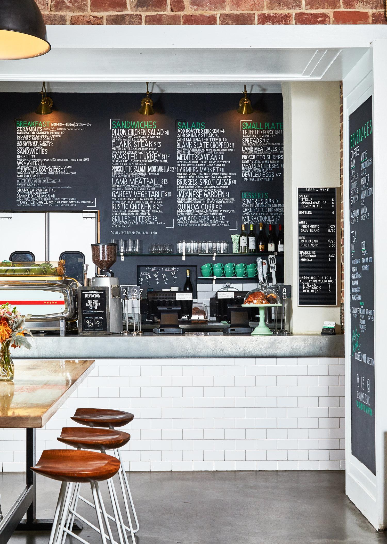 about standalone — blank slate | coffee + kitchen