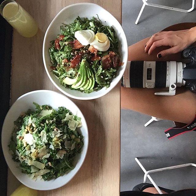 Eat good. Feel good. 🥗🥗 📸: @ashleefrazier