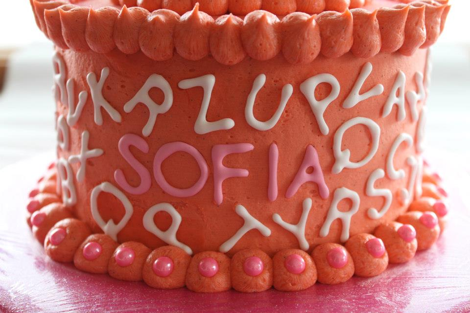 Elephants and Alphabets Cake Side.jpg