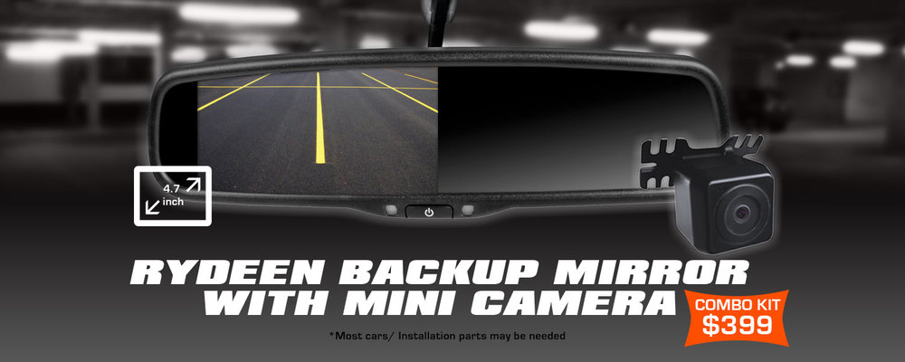 Rydeen Back Up Camera and Sensor