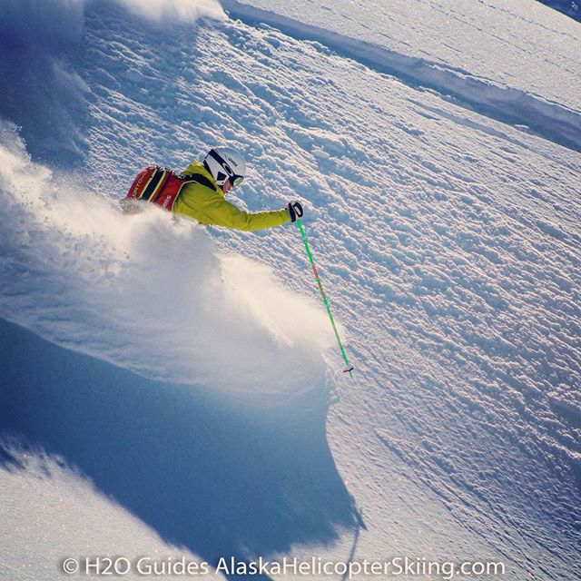 Another day in the Chugach @h2oguides #alaska #heliskiing @ortovox @dean__cummings #chugach #heliski #skiing