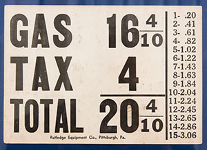 Putney hasn't been around this long but there was a time when gas prices were below a quarter!