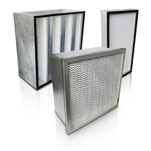 انواع فیلترهای هواساز صنعتی