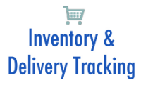 Track inventory levels and deliveries of ordered items, as well as equipment locations and associated information.  More...