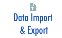 Export reports and the results of complex queries to Excel, PDF, DOC, and many other formats. Import data from other systems with the data import utility.  More...