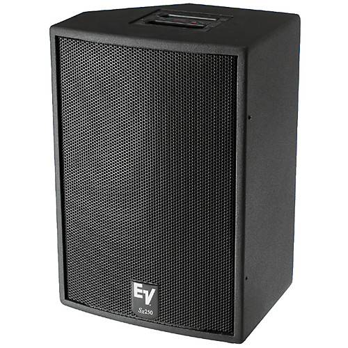 Electro-Voice SX250 and SXa250 Utility Speakers - These Stage Monitors / Fills, use components that have toured the world in EV concert systems including the D2010A 1.25-inch diameter pure titanium compression driver and the DL15BFH 15-inch cast frame woofer.