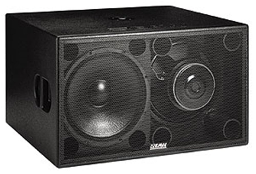"Our EAW FR250z subwoofer is a compact powerhouse, perfect for smaller venues or to add some low-end to a stage monitoring setup. The inverted mounting of one of the 15"" woofers cancels even order harmonic distortion resulting from driver non-linearities for an audiophile experience with a peak output of 137dB."