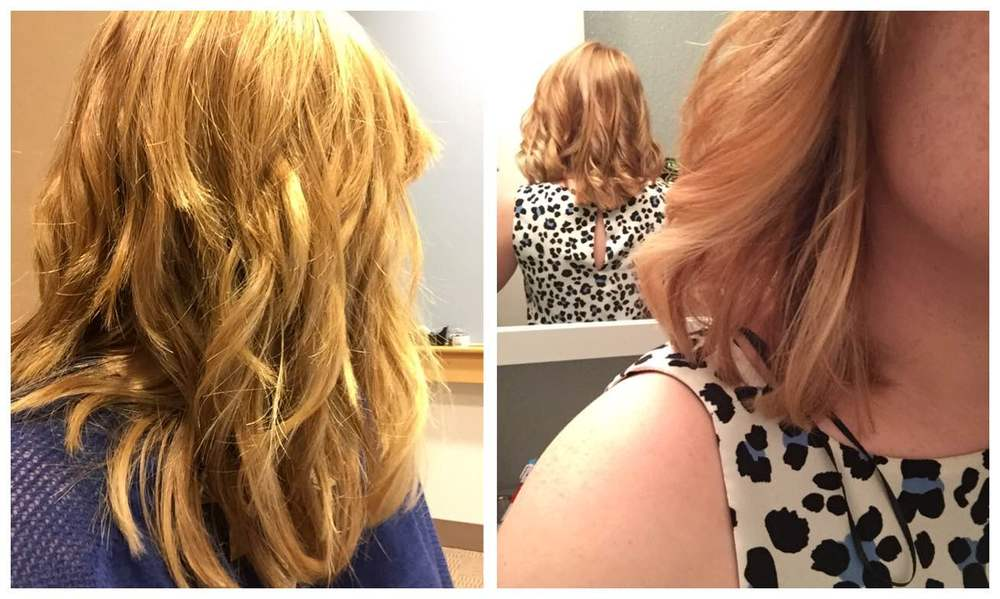 A few good hair days using the Beachwaver and Oribe Apres Beach Wave and Shine spray.