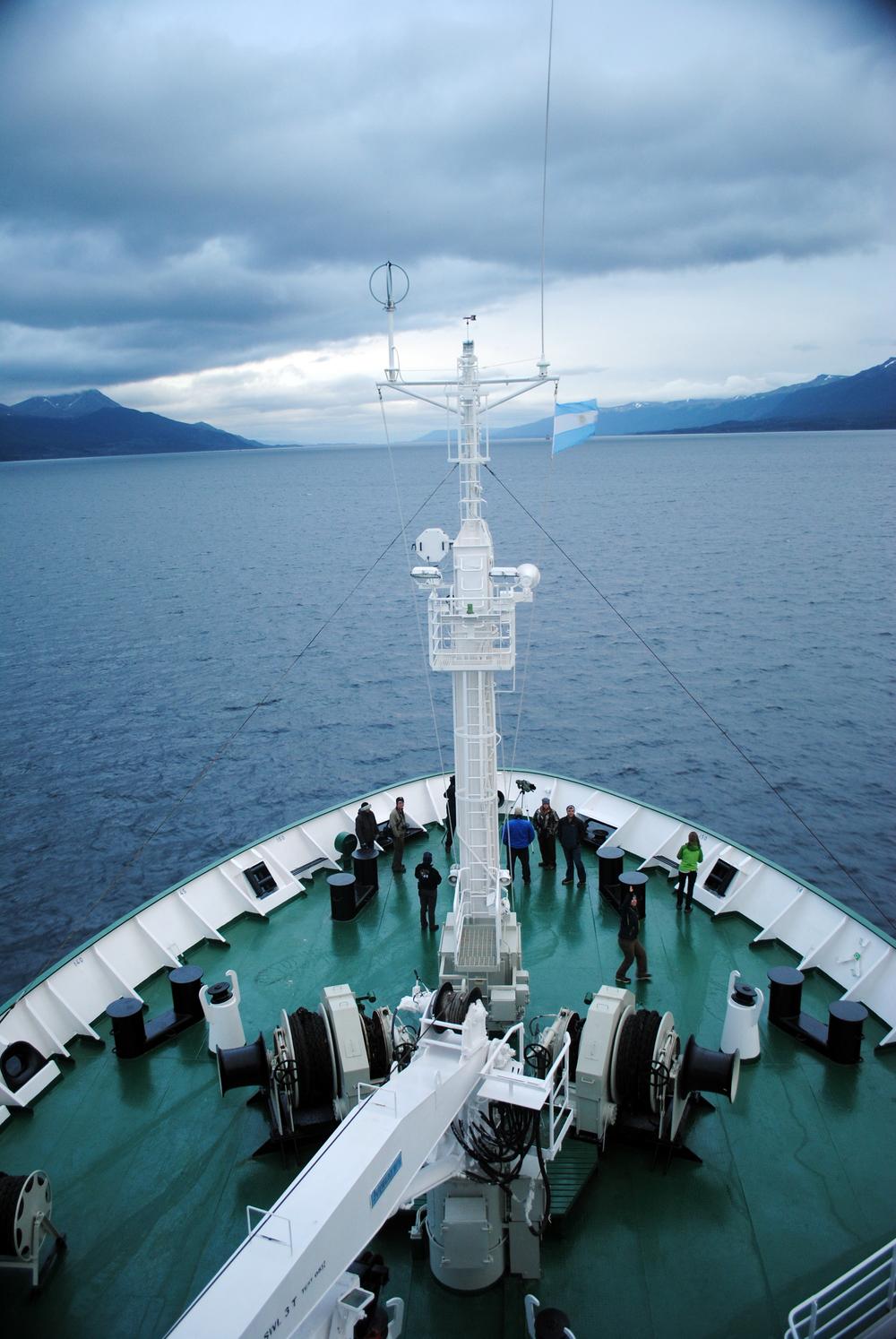 Akademik Ioffe, One Ocean, Beagle Channel, Ushuaia, Argentina - Maggie a la Mode